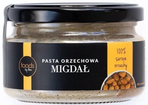 Foods by Ann Pasta Orzechowa Migdałowa 200g -