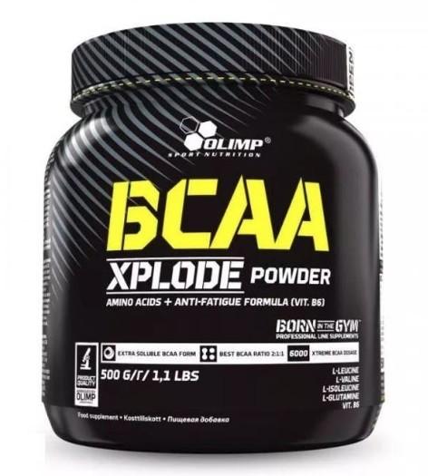 Olimp LABORATORIES BCAA Xplode powder truskawka 1000g  (0000000)