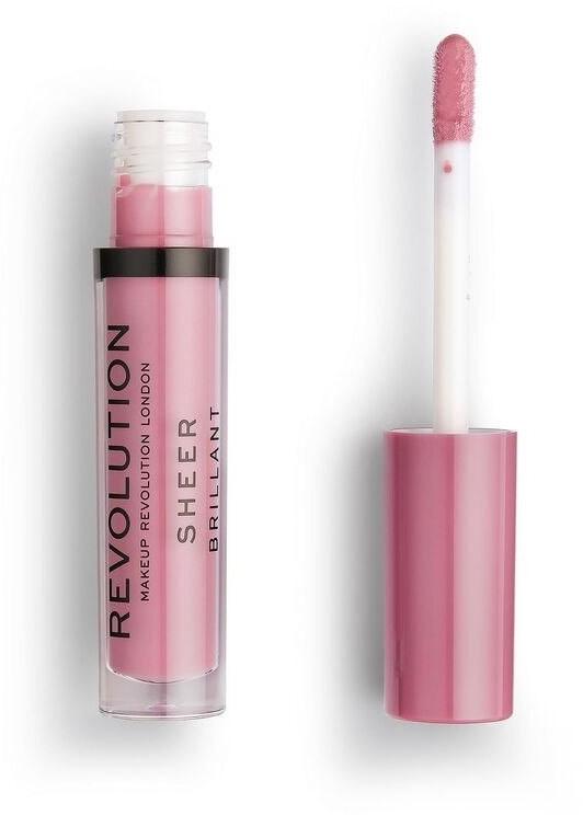 Revolution MAKE UP Makeup Violet 143 Pomadka do ust w płynie Sheer Brillant 1szt SO_111463