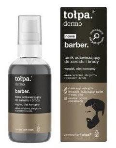 Tołpa Men Barber Tonik odświeżający do brody i zarostu 75ml