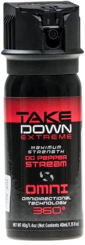 MACE Security International, Inc. Gaz pieprzowy Take Down Extreme Omni 360 - strumień 40 ml (3046)