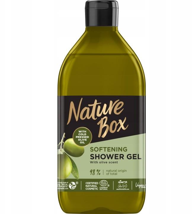 Nature Box Oliwka Zmiękczający Żel pod Prysznic