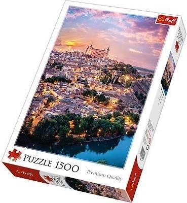 Trefl Puzzle 1500 elementów Toledo, Hiszpania
