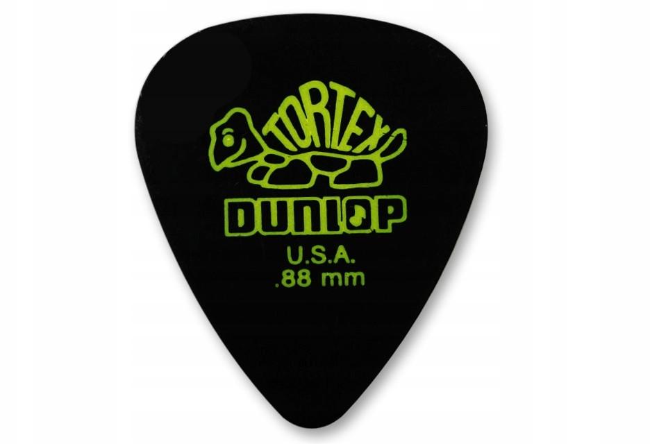 Dunlop Kostka Tortex Pitch Black Standard .88