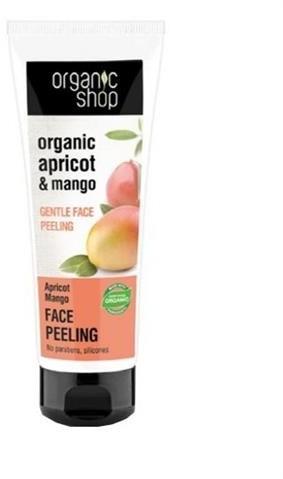 Organic Shop Organic Apricot & Mango Face Peeling delikatny peeling do twarzy 75ml 50691-uniw