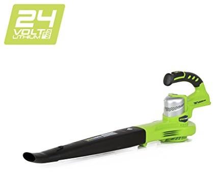 Greenworks Tools 240000724V akumulatorowa dmuchawa do liści (bez akumulatora i ładowarki) 2400007