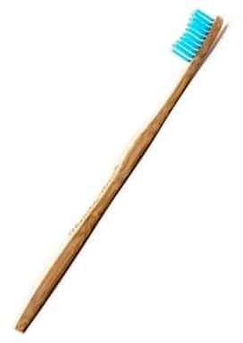Humble Brush Szczoteczka do zębów bambusowa SOFT niebieska 19cm Humble Brush