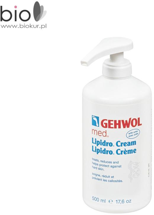 Gehwol LIPIDRO-CREME Krem silnie nawilżający do suchych i wrażliwych stóp 500 ml 1040811