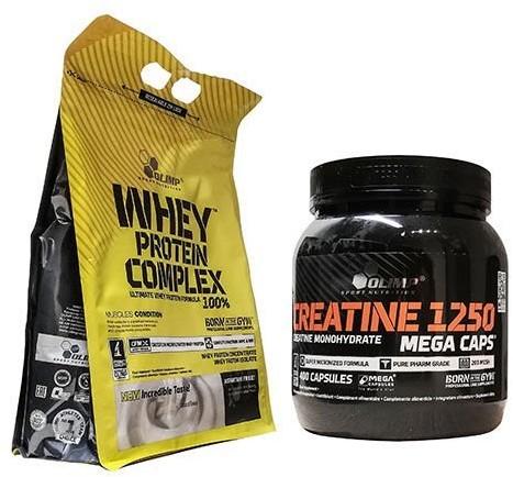 Olimp Whey Protein Complex 100% + Creatine MC 400 Białko + Kreatyna Wysyłka 24h