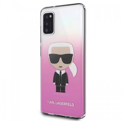 Karl Lagerfeld Iconic Karl Gradient Etui Samsung Galaxy A41 różowy) 10_17871