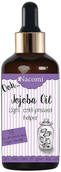 Nacomi Natural Oil Zimnotłoczony nierafinowany olej jojoba 50ml 0000058010