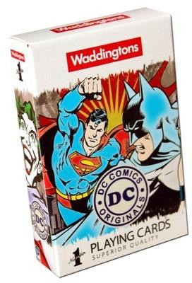 Winning Moves Moves Waddingtons No. 1 DC Retro Playing Cards