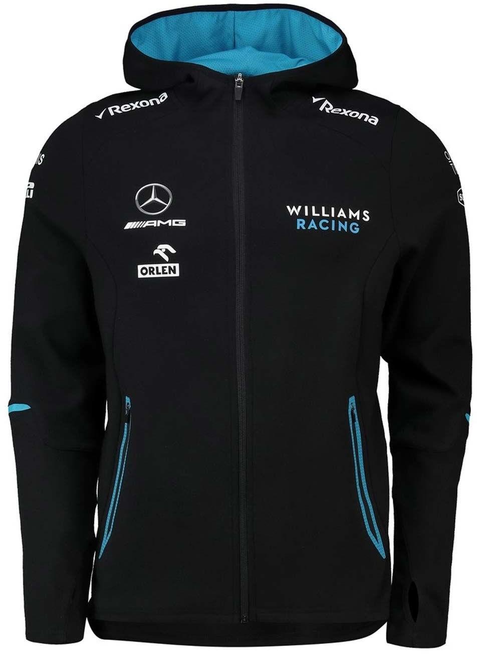 Williams Martini Racing F1 Bluza dziecięca z kapturem Hoodie czarna Team Williams Racing 2019 248766S