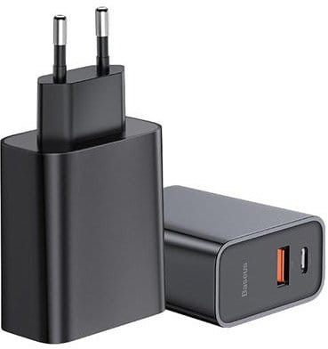 Baseus Ładowarka sieciowa CCFS-C01 Czarny