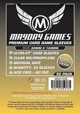 Mayday Games Koszulki Magnum Gold Premium 120x80 (50szt) MAYDAY