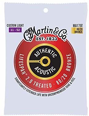 Martin Cordes Authentic Treated, Custom Light, 80/20 41Y18MA175T