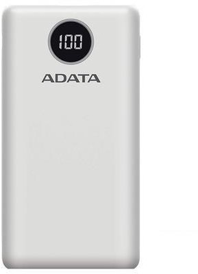 Adata Powerbank P20000QCD White AP20000QCD-DGT-CWH