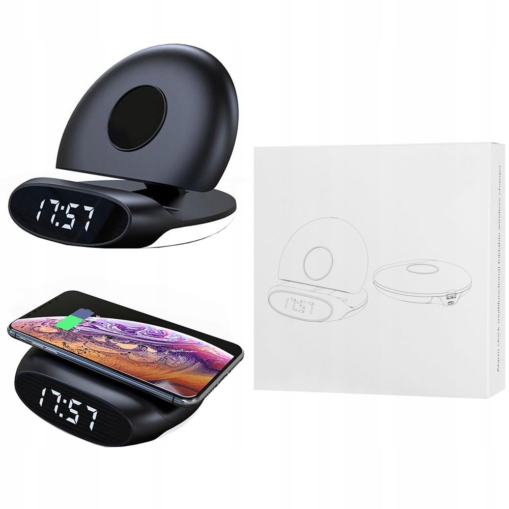 Sony Ładowarka Qi z zegarem 15W Qc do Xperia XZ3