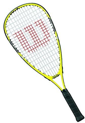 Wilson rakietki rakieta do squasha, dziewczęcy/chłopięcy, chłopiec graczy, Ripper Junior, wrt91 3000, żółty/czarny WRT913000