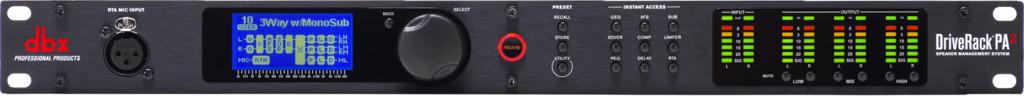 dbx PA2 - procesor dźwięku