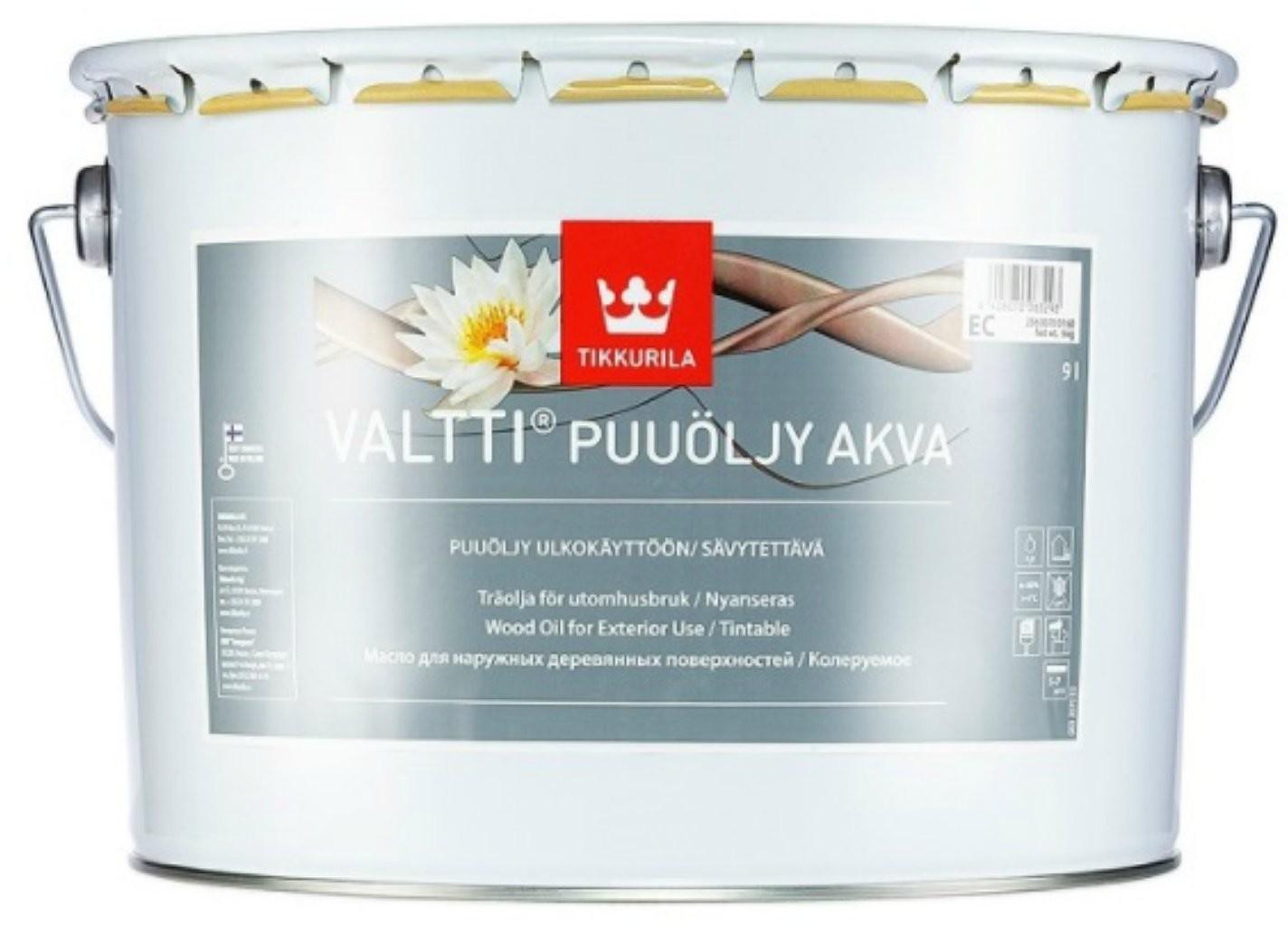 Tikkurila Valtti Wood Oil Akva- Honka 5072, 9l