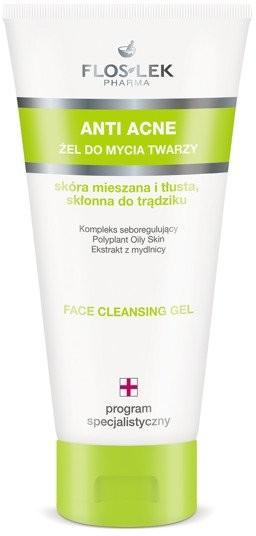 Flos-Lek Warszawa Floslek anti acne żel do mycia twarzy skóra mieszana i tłusta skłonna do trądziku 200 ml