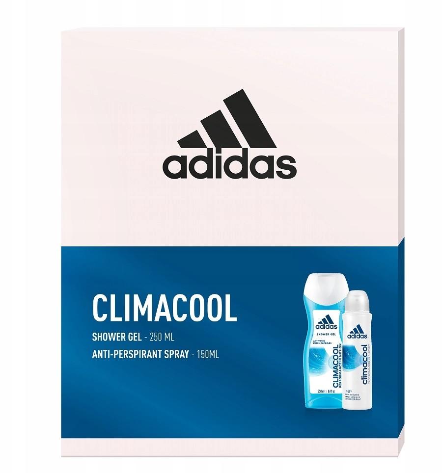 Adidas zestaw spray 150ml + żel pod prysznic