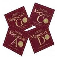 Larsen 639505) Magnacore struny do wiolonczeli Set Medium 4/4