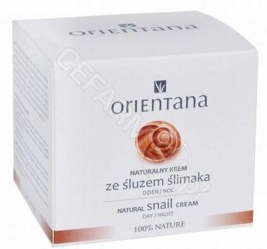 Orientana Naturalny krem ze śluzem ślimaka 50ml