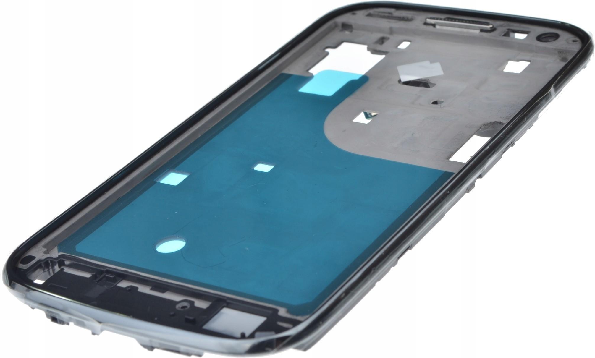 Samsung Korpus Galaxy Ace 2 czarny środkowy ramka