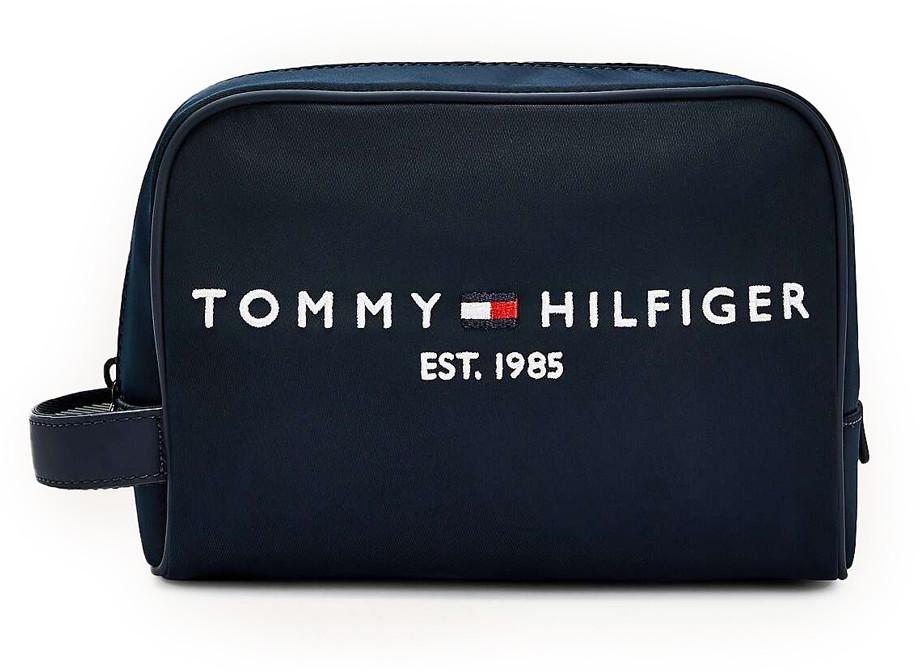 TOMMY HILFIGER niebieski kosmetyczka Established Washbag AM0AM07306/DW5