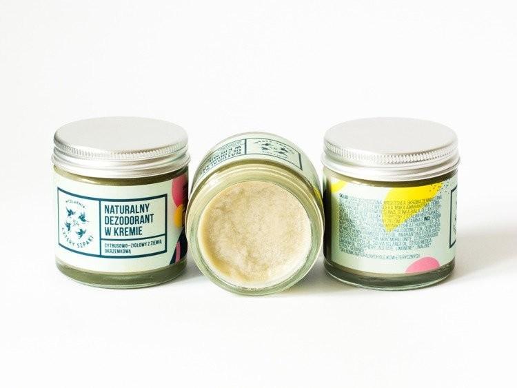 Mydlarnia CZTERY SZPAKI Dezodorant w kremie z ziemią okrzemkową