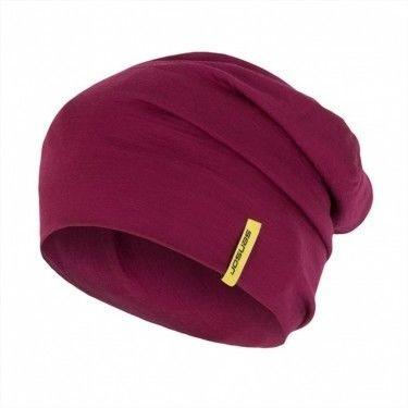Sensor Termoaktywna czapka MERINO ACTIVE BEANIE rozmiar L kolor fioletowy