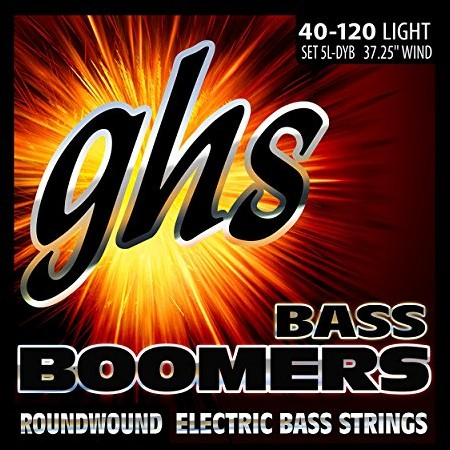 ghs Gitara basowa GHS boomers 040120, 30455L  struny 5LDYB