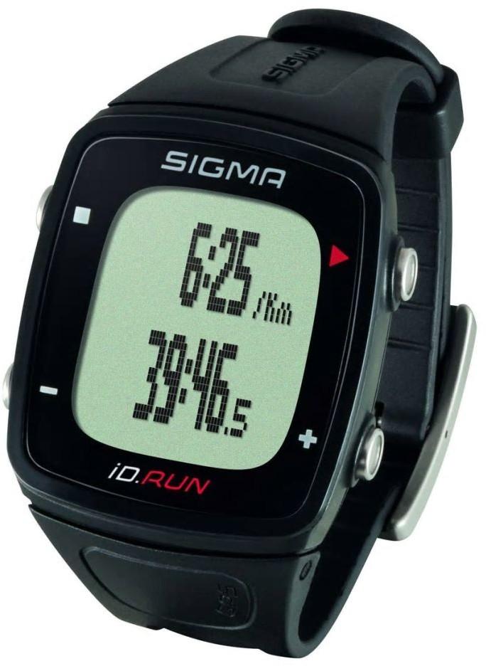Sigma GPS iD.RUN czarny