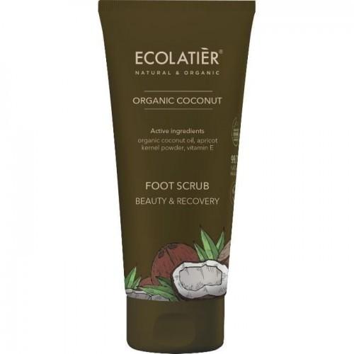 Ecolatier Ecolatier Coconut Peeling do stóp Piękno i Regeneracja 100ml