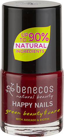 Benecos Lakier do paznokci CHERRY RED BEN 91044