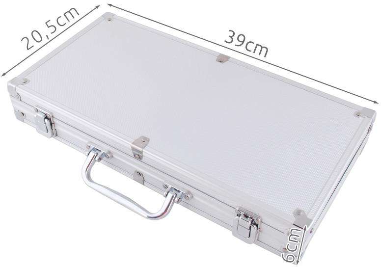 Vita Zestaw 300 żetonów w aluminiowej walizce