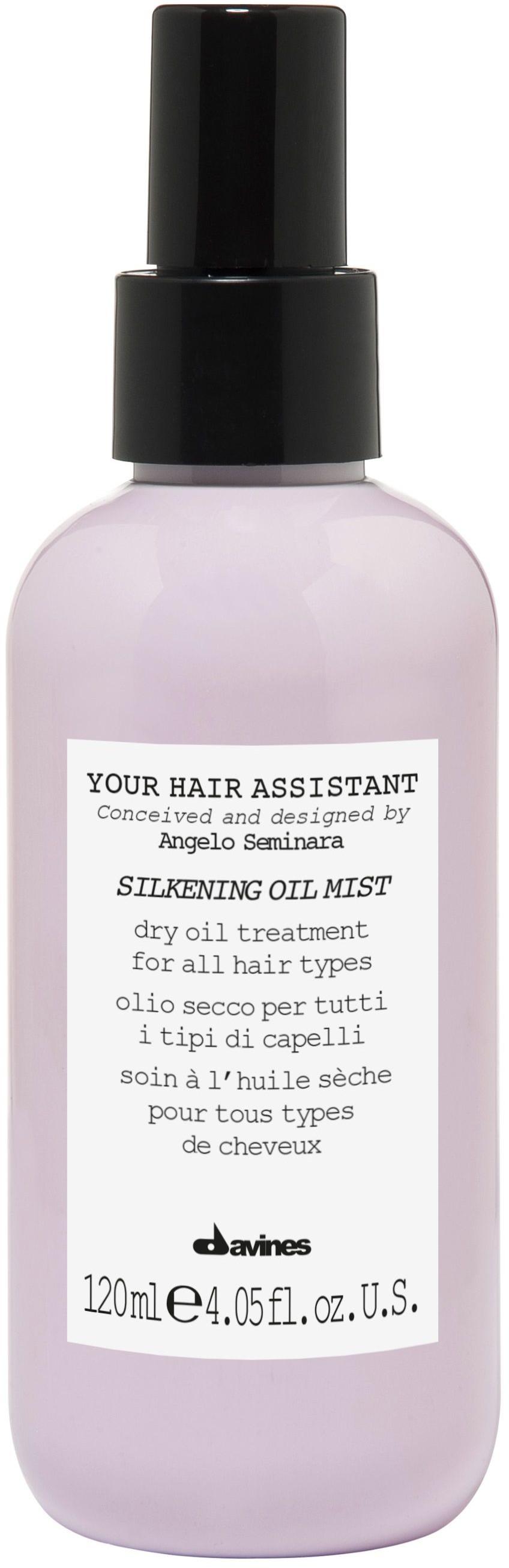 Davines Your Hair Assistant SILKENING OIL MIST - suchy olejek do wykańczania fryzury 120ml