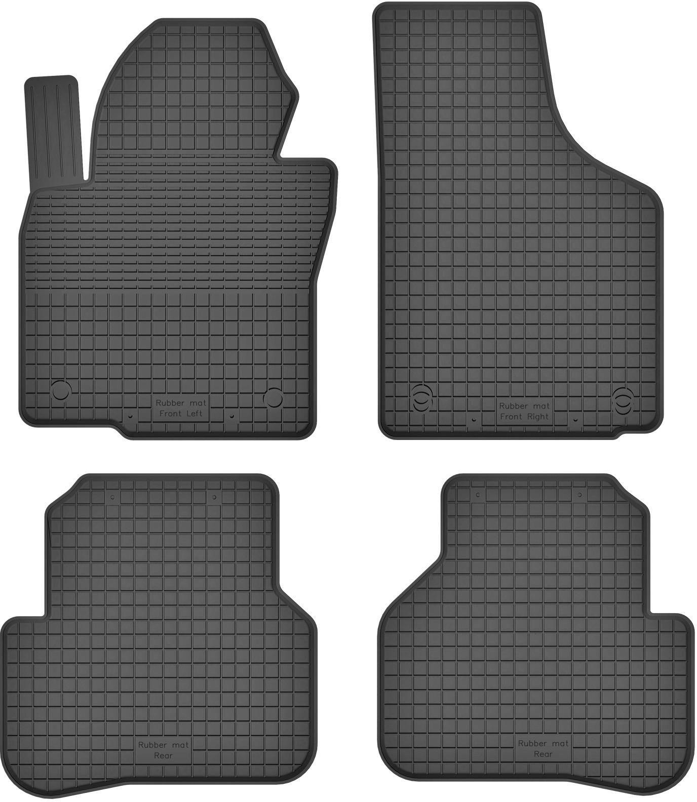 MotoHobby Volkswagen Passat B6 (2005-2010) - dywaniki gumowe korytkowe