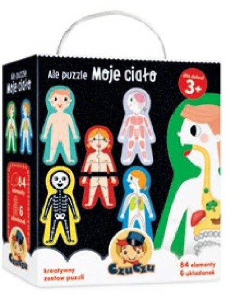Bright Junior Media Ale Puzzle Moje Ciało 3+