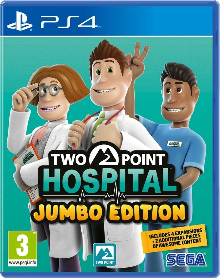 Two Point Hospital Jumbo Edition (GRA PS4)