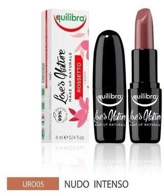 EQUILIBRA Love's Nature Lipstick Intense Nude 4ml 82980-uniw
