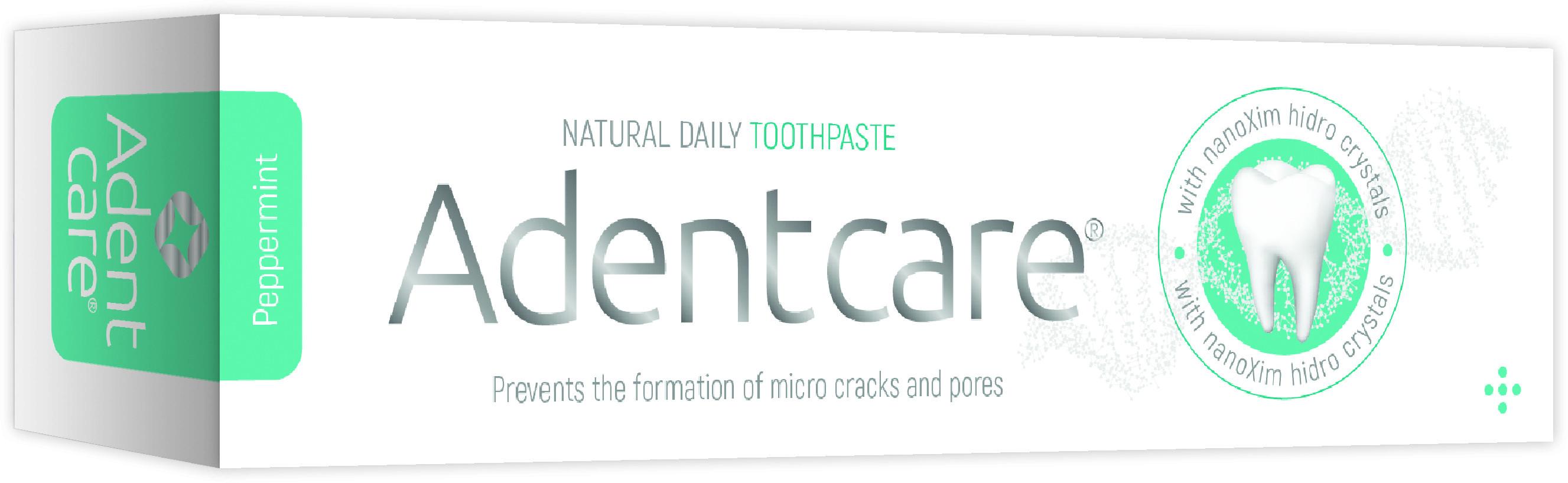 AdentCare AdentCare pasta do zębów Reminrealizacja & Wybielanie z Hydroksyapatytem i formułą NanoXIM 75ml