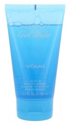Davidoff Cool Water Woman żel pod prysznic 150 ml Uszkodzone pudełko dla kobiet
