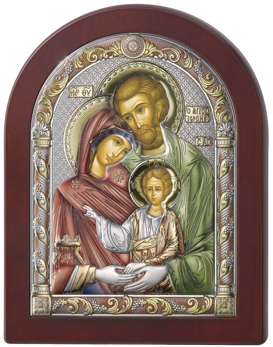 Valenti Ikona Święta Rodzina kolorowa   Rozmiar: 6x8.5 cm   SKU: VL84125/1LCOL