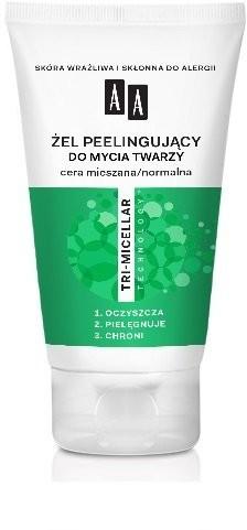 Oceanic Cosmetics Tri-Micelar, żel peelingujący do mycia twarzy, 150 ml