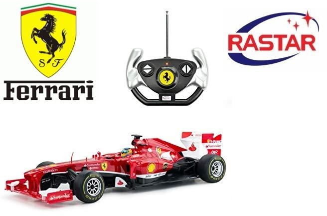 Rastar Bolid Ferrari F1 1:12 Red
