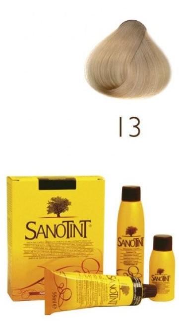 Sanotint Classic, farba do włosów na bazie ekstraktów roślinnych i witamin 13 Nordic Blonde, 125 ml