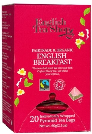English Tea Shop English Tea Shop English Breakfast - 20 piramidek